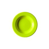 NATIVE-D22-GN Πιάτο βαθύ κεραμικό 22cm, με ενισχυμένη αντοχή στο ξεφλούδισμα, πράσινο
