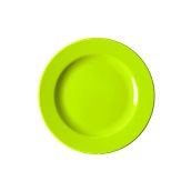 NATIVE-F26-GN Πιάτο ρηχό κεραμικό 26cm, με ενισχυμένη αντοχή στο ξεφλούδισμα, πράσινο