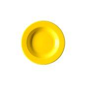 NATIVE-D22-YE Πιάτο βαθύ κεραμικό 22cm, με ενισχυμένη αντοχή στο ξεφλούδισμα, κίτρινο
