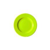 NATIVE-F20-GN Πιάτο ρηχό κεραμικό 20cm, με ενισχυμένη αντοχή στο ξεφλούδισμα, πράσινο