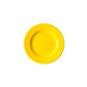 NATIVE-F20-YE Πιάτο ρηχό κεραμικό 20cm, με ενισχυμένη αντοχή στο ξεφλούδισμα, κίτρινο
