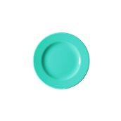 NATIVE-F20-BL Πιάτο ρηχό κεραμικό 20cm, με ενισχυμένη αντοχή στο ξεφλούδισμα, μπλε
