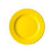 NATIVE-F29-YE Πιάτο ρηχό κεραμικό 29cm, με ενισχυμένη αντοχή στο ξεφλούδισμα, κίτρινο