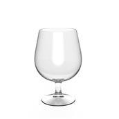 2893-21 Πλαστικό ποτήρι κολωνάτο TRITAN 51.6cl, φ7.5x14.5cm, διαφανές