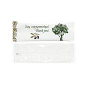 WP-OL01/BLG Αρωματικό υγρό Μαντηλάκι, 5x16cm (πετσέτα 20x20cm), Ελιά, με άρωμα BLG