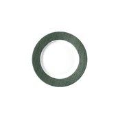 "JEANS-GN-FP-20 Πιάτο Ρηχό 20cm, πορσελάνης, σειρά πράσινο ""Blue Jean"", VAN KOTTLER"
