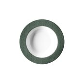 """JEANS-GN-DP-23 Πιάτο Βαθύ 23cm, πορσελάνης, σειρά πράσινο """"Blue Jean"""", VAN KOTTLER"""