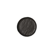 VU003160779 Πιάτο Ρηχό Πορσελάνης Φ16cm, Σειρά VULCANIA, μαύρο, TOGNANA