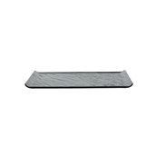 VU034290779 Πιάτο Ρηχό Πορσελάνης 29.5x15.6cm, Σειρά VULCANIA, μαύρο, TOGNANA