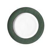 "JEANS-GN-FP-31 Πιάτο Ρηχό 31cm, πορσελάνης, σειρά πράσινο ""Blue Jean"", VAN KOTTLER"