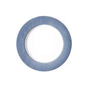 "JEANS-BL-FP-27 Πιάτο Ρηχό 27cm, πορσελάνης, σειρά μπλε ""Blue Jean"", VAN KOTTLER"