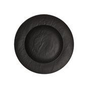 VU023290779 Πιάτο Ζυμαρικών Φ29cm, Σειρά VULCANIA, μαύρο, TOGNANA