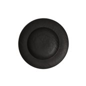 VU023250779 Πιάτο Ζυμαρικών Φ25cm, Σειρά VULCANIA, μαύρο, TOGNANA