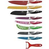 BL-2098 Σετ 9 τεμάχια μαχαίρια κουζίνας, Blaumann