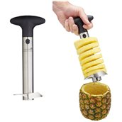 MCPACORESS Εργαλείο καθαρισμού ανανά, ανοξείδωτο, 9X20cm