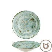 ODTOLGRM24CK Πιάτο Βαθύ πορσελάνης 24cm, Odette Olive, BONNA