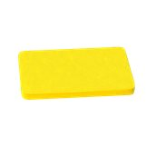 YPL-50302/YE Κίτρινη Πλάκα Κοπής Πολυαιθυλενίου 50x30x2cm