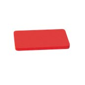 YPL-40302/RD Κόκκινη Πλάκα Κοπής Πολυαιθυλενίου 40x30x2cm
