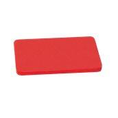 YPL-503012/RD Κόκκινη Πλάκα Κοπής Πολυαιθυλενίου 50x30x1.2cm