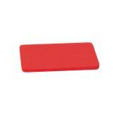 YPL-403012/RD Κόκκινη Πλάκα Κοπής Πολυαιθυλενίου 40x30x1.2cm