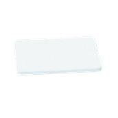 YPL-503012/WH Λευκή Πλάκα Κοπής Πολυαιθυλενίου 50x30x1.2cm
