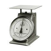 MF.252030 Μηχανική Ζυγαριά INOX φ31.5cm, 31.5x37x35.5cm, έως 30kg, ακρίβεια : 100gr, Matfer
