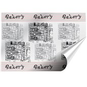 55.04.02-35x50/BK Χαρτί Αφής Σχέδιο Bakery 35x50cm