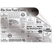 45.22.03/GR Φύλλο Βεζιτάλ Σχέδιο Εφημερίδα, 35x50cm, τιμή ανά κιλό