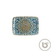 ALHMOV26DT Δίσκος Ορθογώνιος πορσελάνης 23x16cm, Alhambra, BONNA