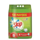 SKIP-101101201 Σκόνη πλυντηρίων ρούχων 8.45KG, 130 πλύσεις, Spring Fresh, SKIP