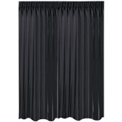 BOC-295X290/02 Κουρτίνα Blackout 295x290cm, 230gr 100% Polyester, Μαυρο
