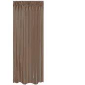 BOC-144X290/07 Κουρτίνα Blackout 144x290cm, 230gr 100% Polyester, Καφε σκουρο
