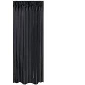 BOC-144X290/02 Κουρτίνα Blackout 144x290cm, 230gr 100% Polyester, Μαυρο