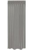 BOC-144X290/05 Κουρτίνα Blackout 144x290cm, 230gr 100% Polyester, Γκρι σκουρο