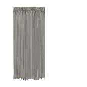 BOC-144X250/05 Κουρτίνα Blackout 144x250cm, 230gr 100% Polyester, Γκρι σκουρο