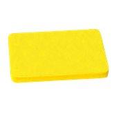 YPL-60402/YE Κίτρινη Πλάκα Κοπής Πολυαιθυλενίου 60x40x2cm