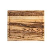 KS-020165 Ξύλινο πλατό με βάθος, από ξύλο Καστανιάς, Ορθογώνιο, 30 x 25 cm
