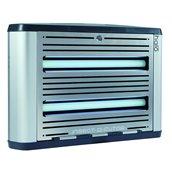 MF2.730107(HL15) Εντομοπαγίδα με κολλητική πλάκα και UV φως 15W, για 40m², 59x12x25cm, Matfer