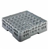 AMB-49/GREY Μπασκέτα Πλυντηρίου (κλειστού τύπου), 49 χωρίσματα, 50x50x14.3cm, γκρι, AMER-BOX