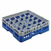 AMB-25/BLUE Μπασκέτα Πλυντηρίου (κλειστού τύπου), 25 χωρίσματα, 50x50x14.3cm, μπλε, AMER-BOX