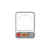 PS-505 Ψηφιακή ζυγαριά, ιδανική για κουζίνα, μέγιστο βάρος 2.5Kgr