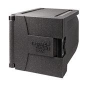 TB/10350 Ισοθερμικό κιβώτιο EPP, με πόρτα, για 5xGN1/1 (6.5cm), 87LT, μαύρο, THERMOBOX