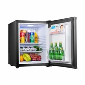BCH-40B/BLACK Ψυγείο MiniBar 40Lt, Αθόρυβο, Θερμοηλεκτρικό Peltier, Κλάση A+, Μαύρο