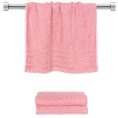 TWCO-5090-PK Πετσέτα προσώπου ροζ 50x90 cm, Σειρά Comfort, 500gr/m², Πενιέ, Fennel