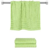 TWCO-5090-GN Πετσέτα προσώπου πράσινη 50x90 cm, Σειρά Comfort, 500gr/m², Πενιέ, Fennel