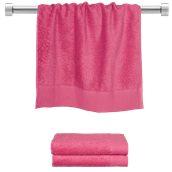 TWPR-50100-FX Πετσέτα προσώπου φούξια 50x100 cm, Σειρά Premium , 600gr/m², Πενιέ, Fennel