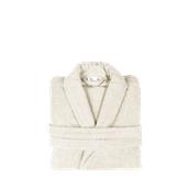 BRCC-S-EC Μπουρνούζι με γιακά, Small, εκρου, Σειρά Comfort, 420gr/m², Πενιέ, Fennel