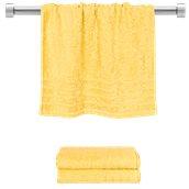 TWCO-5090-YE Πετσέτα προσώπου κίτρινη 50x90 cm, Σειρά Comfort, 500gr/m², Πενιέ, Fennel