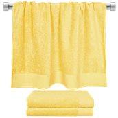 TWPR-80150-YE Πετσέτα μπάνιου κίτρινη 80x150 cm, Σειρά Premium , 600gr/m², Πενιέ, Fennel