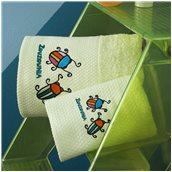 ZOU-BD-374 Σετ 2 Πετσέτες Βρεφικές, 100% βαμβάκι, 30x50cm & 70x140cm, Μπάμπουρας, Πράσινο
